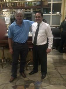 Gustavo Magariños e Mauro Torquato