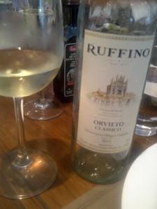 Orvieto, um vinho simples....