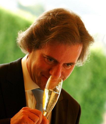 Rui Falcão, um dos mais conceituados críticos de  vinhos de Portugal.